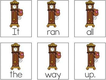Nursery Rhymes Scrambled Sentences