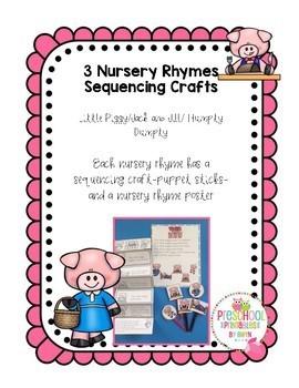 Nursery Rhymes Sequencing Crafts 1