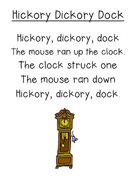 Nursery Rhymes Text Reconstruction