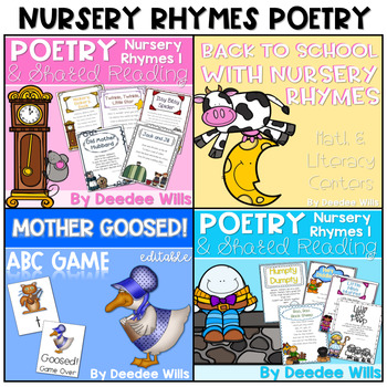 Nursery Rhymes-The BUNDLED Set