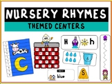 Nursery Rhymes Themed Literacy and Math Centers