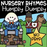 Nursery Rhymes Math and Literacy Printables