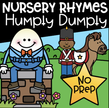 Nursery Rhymes Math and Literacy Printables