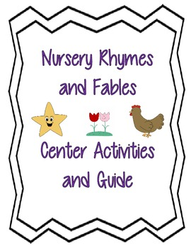 Nursery Rhymes Center Unit