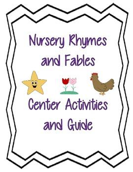 Nursery Rhymes Center Unit
