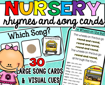 Nursery Rhymes and Song Cards