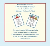 Nursery Rhymes and Songs: Tracking Print and Concept of Word