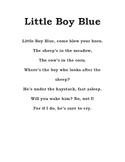 Nursery Rhymes, assorted