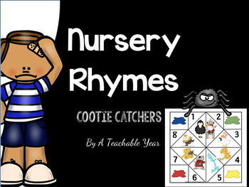 Nursery Rhymes Cootie Catchers