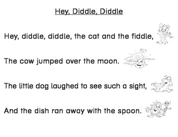 Nursery Rhymes for Reading Skill Practice