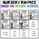 Nursery Rhymes for Toddlers and Preschoolers-Activities an
