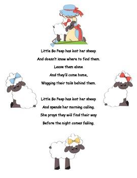 Nursery Rhymes packet
