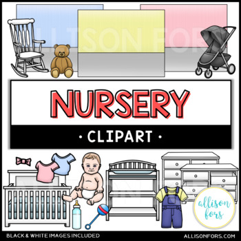 Nursery and Baby Clip Art