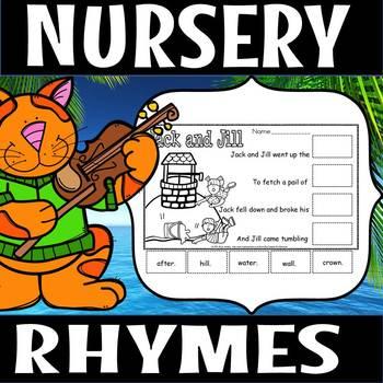 Nursery rhyme cut and paste