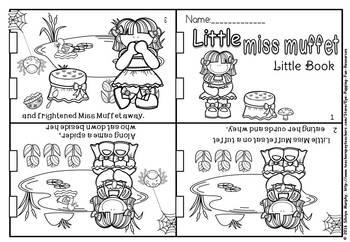 Nursery rhyme foldables.