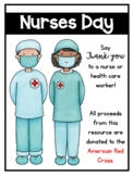 Nurses Day Thank You Cards, Class Book, and Bracelets