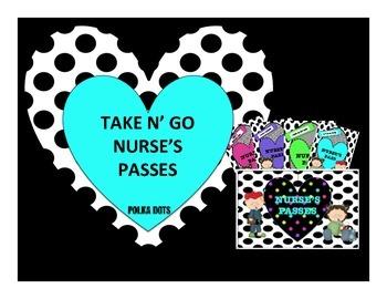Nurse's Passes Polkadot