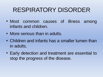 Nursing Care Of A Family When A Child Has A Respiratory Disorder