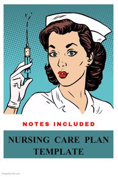 Nursing Care Plan Template