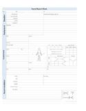 Nursing Report Sheet