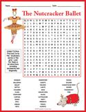 No Prep Nutcracker Ballet Word Search Puzzle Activity