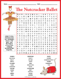 No Prep Nutcracker Word Search Puzzle FUN