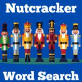 Nutcracker Activity | Nutcracker Word Search | Christmas Nutcracker