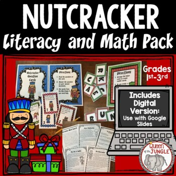 Nutcracker Literacy and Math Activities