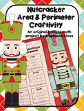 Christmas Math Activity: Nutcracker Area and Perimeter