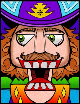 Nutcracker Art - Coloring Pages, Templates, and Reference Graphics