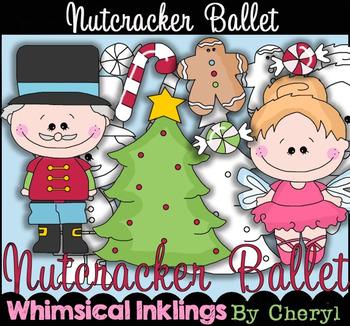 Nutcracker Ballet Clipart Collection