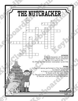 Nutcracker Ballet Crossword Puzzle Printable