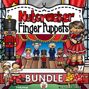 Nutcracker Ballet Finger Puppets (BUNDLE)