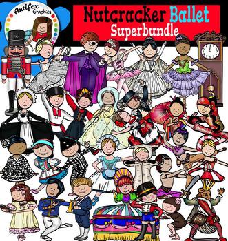 Nutcracker Ballet Superbundle- 56 graphics!