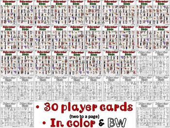 Nutcracker Bingo