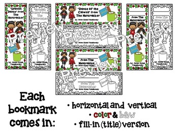 Nutcracker Bookmarks