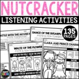 Nutcracker Listening Sheets, Winter December, Christmas Activities