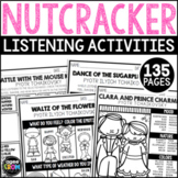 Nutcracker Listening Sheets, Winter December, Christmas Ac