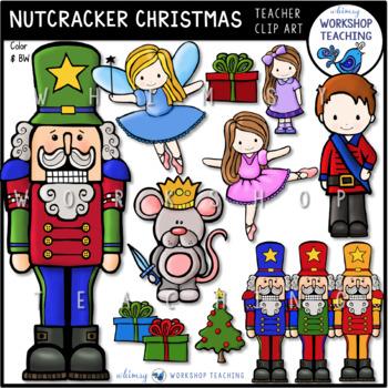 Nutcracker Clip Art - Whimsy Workshop Teaching