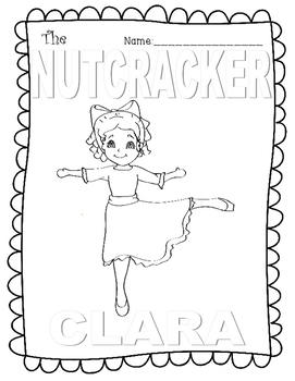 Nutcracker Color Sheets CYBER MONDAY FREEBIE