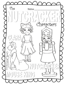 Nutcracker Color Sheets CYBER MONDAY FREEBIE