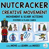 Nutcracker Creative Movement Scarf & Ribbon Activities or Brain Breaks