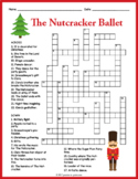 Nutcracker Crossword Puzzle