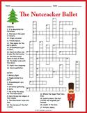 No Prep Nutcracker Ballet Crossword Puzzle