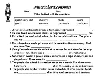 Nutcracker Economics