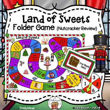 Nutcracker Folder Game (Land of Sweets)