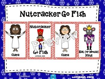 Nutcracker Go Fish Game