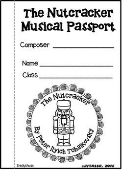 Nutcracker Musical Passport