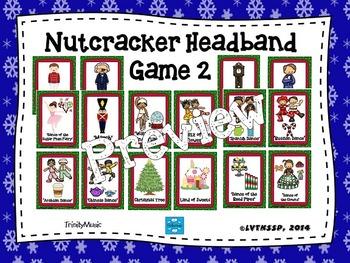 Nutcracker Headband Game 2