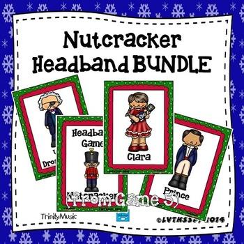 Nutcracker Headband Game (BUNDLE)